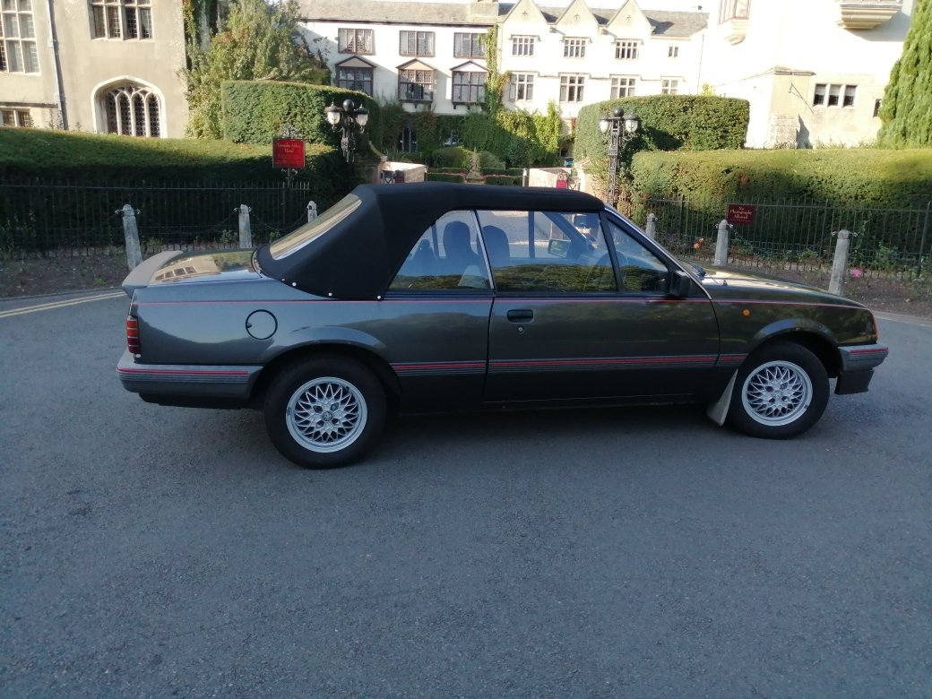 1986 Vauxhall Cavalier Cabriolet For Sale (picture 1 of 6)