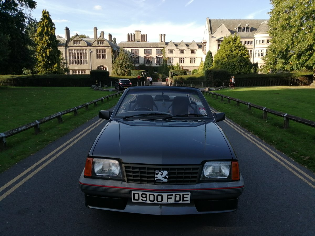 1986 Vauxhall Cavalier Cabriolet For Sale (picture 6 of 6)