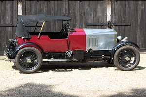 1926 Vauxhall 14-40 with 30-98 spec 23-60 engine