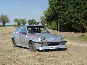 1979 Vauxhall Chevette HSR Works Rally Car For Sale by Auction