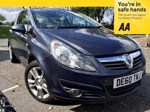 2010 Vauxhall Corsa 1.2 SXi 3 Door - Demo +1 Owner For Sale