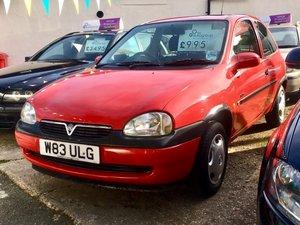 2000 Vauxhall Corsa 1.2 GLS - Amazing 23,000 MILES!! For Sale