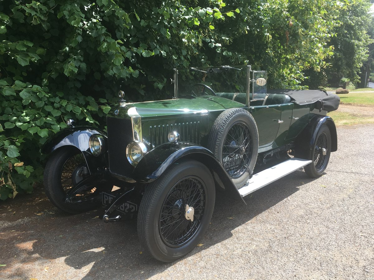 1926 Vauxhall 14/40 Princeton Tourer For Sale (picture 1 of 6)