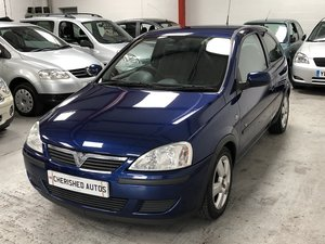 2004 Vauxhall Corsa 1.0 i 12v Energy 3dr (a/c) *51,000 MILES*