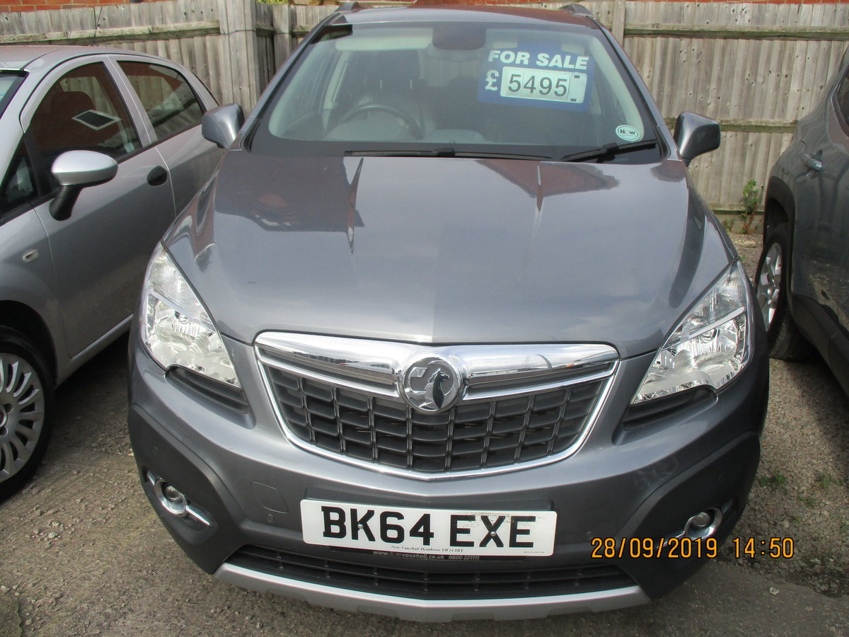 2014 64 PLATE VAUXHALL MOKKA EXE 5 DOOR JUST 50,000 MILES CAT N  For Sale (picture 1 of 6)