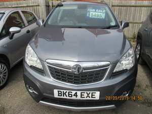 2014 64 PLATE VAUXHALL MOKKA EXE 5 DOOR JUST 50,000 MILES CAT N  For Sale
