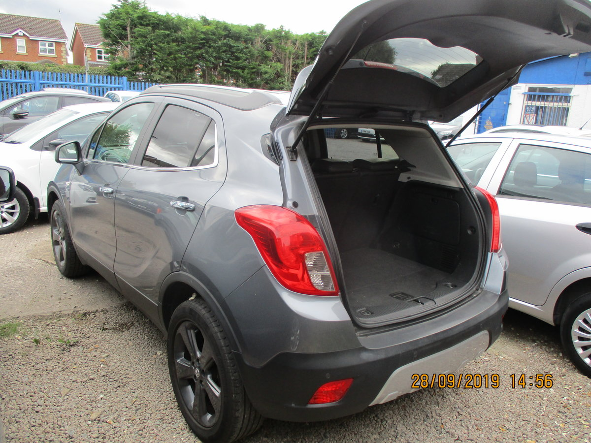 2014 64 PLATE VAUXHALL MOKKA EXE 5 DOOR JUST 50,000 MILES CAT N  For Sale (picture 6 of 6)