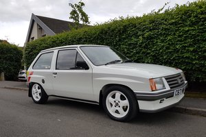 1985 Vauxhall Nova Sport 1.3 - rare and fully restored For Sale