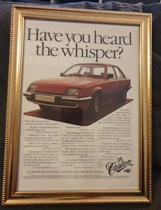 1979 Original Vauxhall Carlton Advert