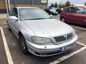 2002 Vauxhall omega 2.2 cdx auto private plate leather