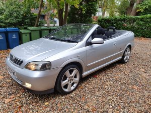 2003 Excellent & Rare Vauxhall Astra 2.0 Turbo Cabriolet Manual  SOLD