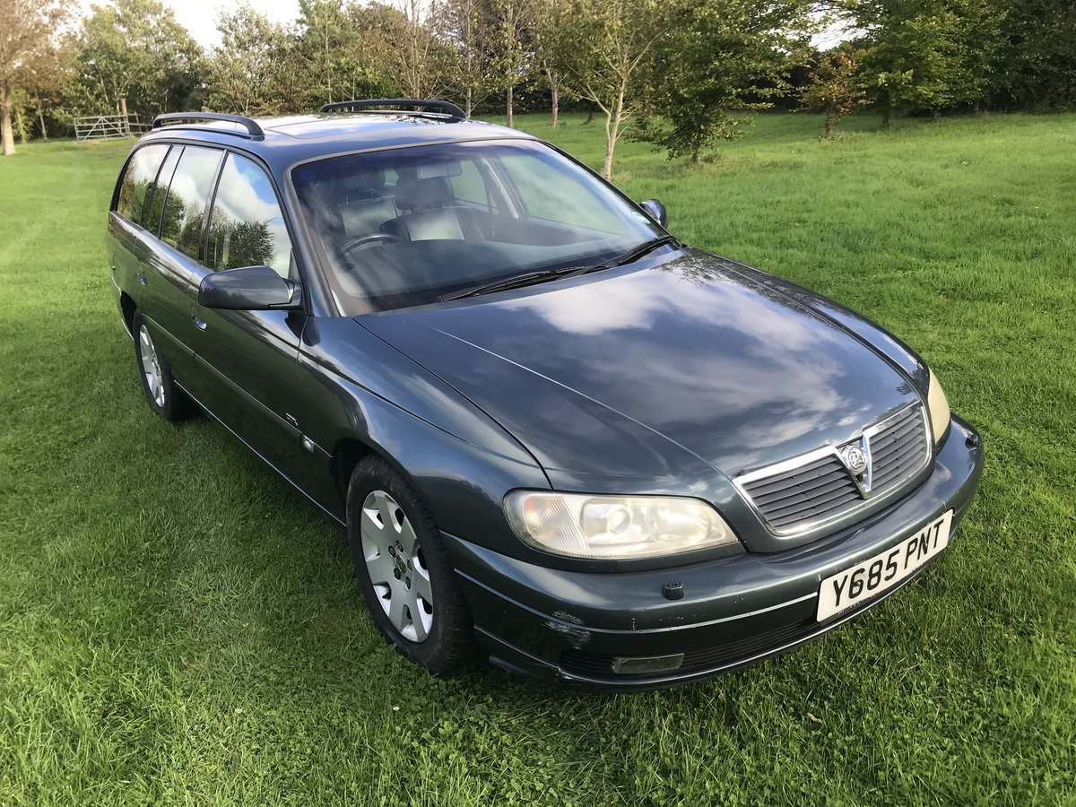 2001 Vauxhall Omega CDX 2.2 AUTO - 62K - MOT JUNE For Sale (picture 1 of 6)