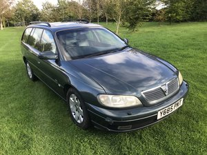 2001 Vauxhall Omega CDX 2.2 AUTO - 62K - MOT JUNE