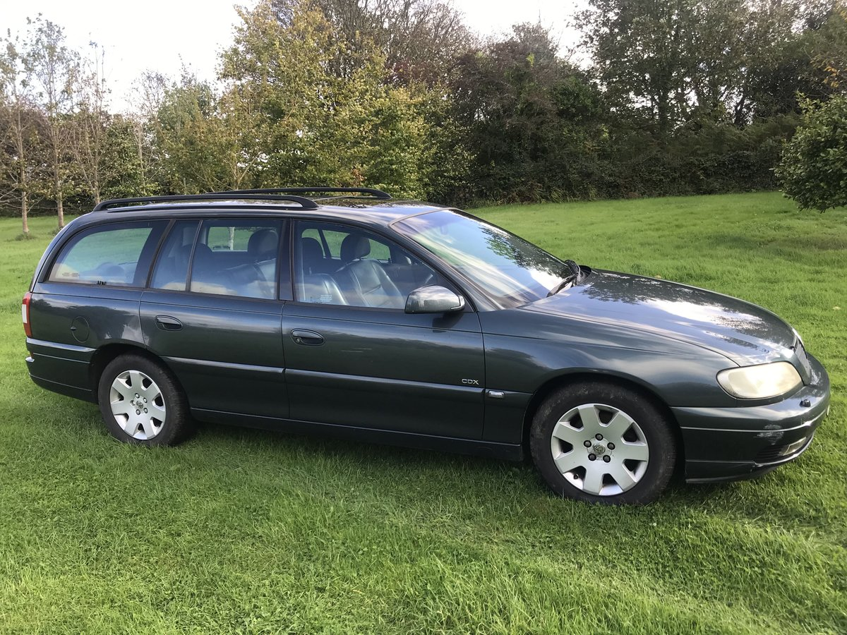 2001 Vauxhall Omega CDX 2.2 AUTO - 62K - MOT JUNE For Sale (picture 2 of 6)