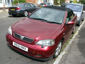 2001 Automatic Astra Cabriolet Future classic For Sale