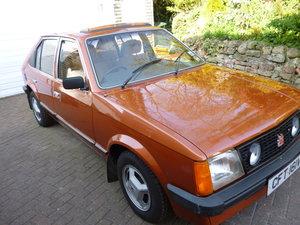 1980 Vauxhall Astra Rare 1300 S GL