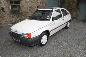 1987 Vauxhall Astra Celebrity SOLD