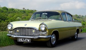 1961 Vauxhall Cresta, rare car and colour scheme.