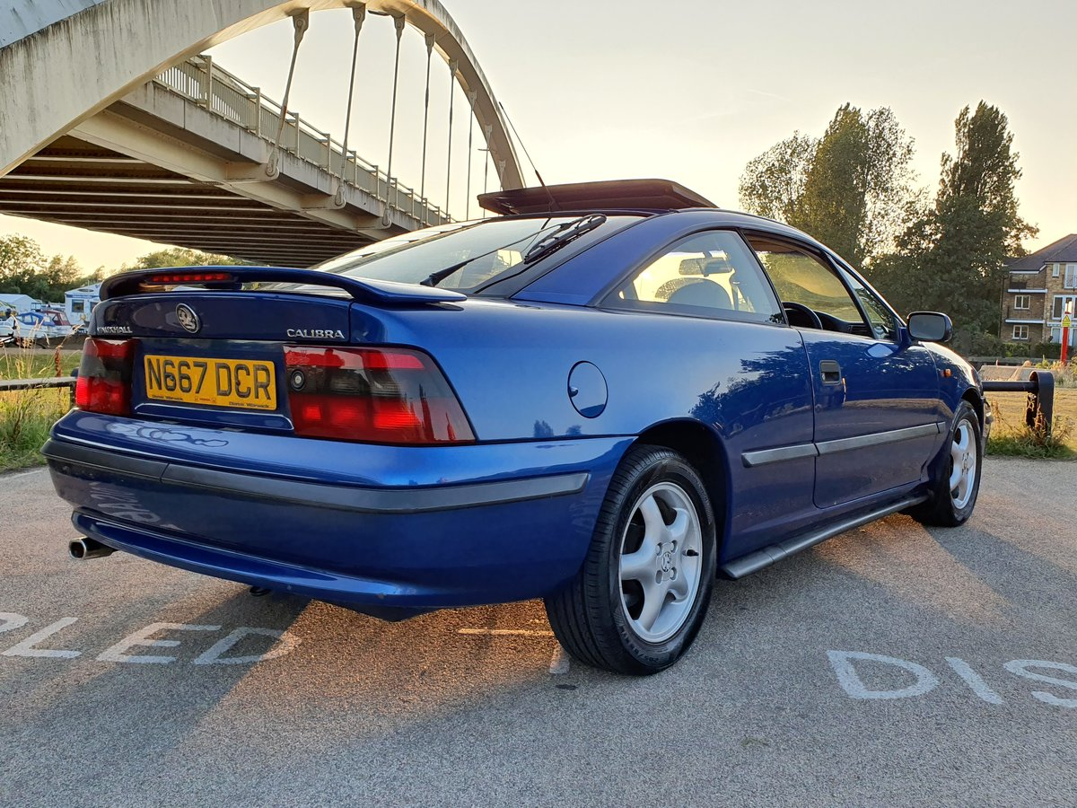 1995 Vauxhall calibra 2.0i 8v Auto SE4, Genuine 46k For Sale (picture 1 of 6)