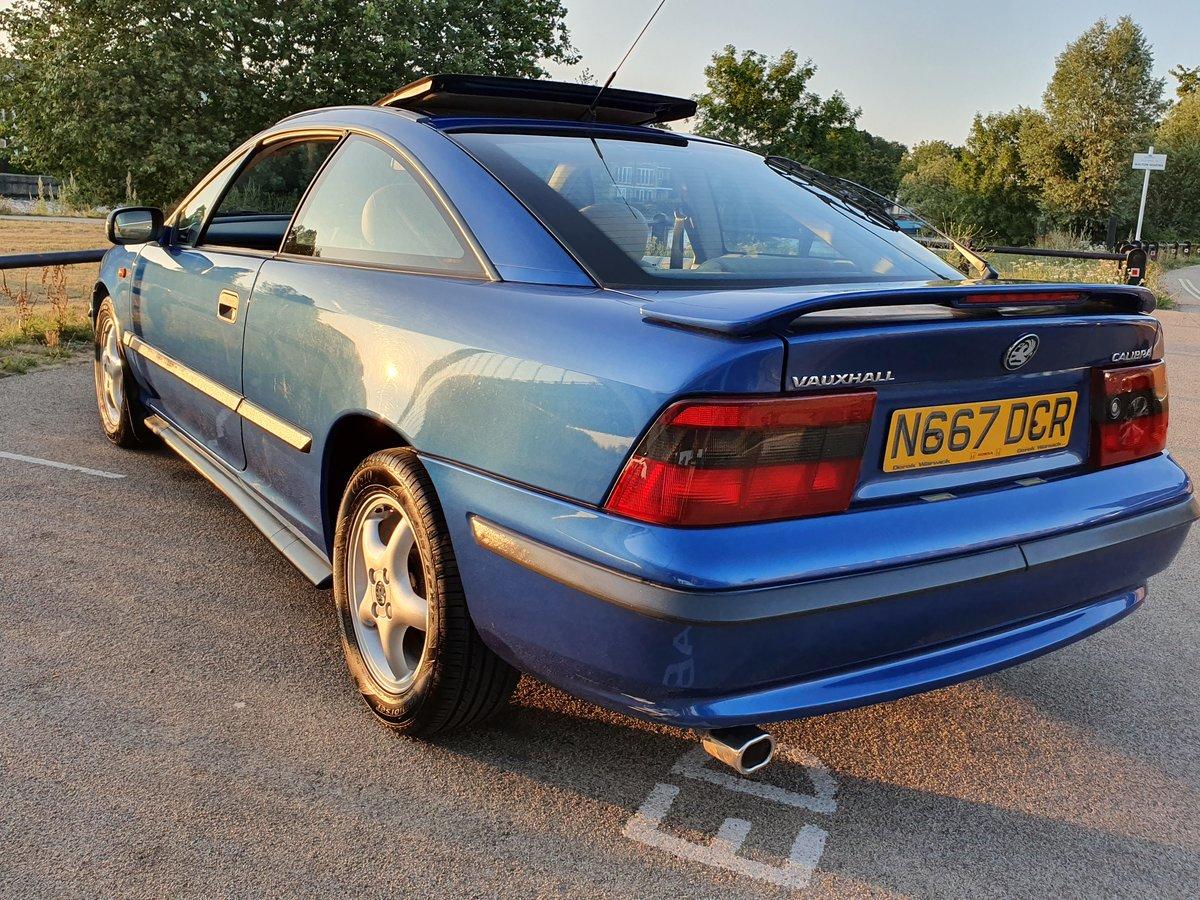 1995 Vauxhall calibra 2.0i 8v Auto SE4, Genuine 46k For Sale (picture 2 of 6)