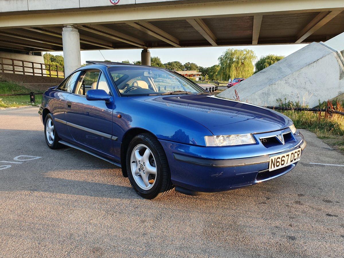 1995 Vauxhall calibra 2.0i 8v Auto SE4, Genuine 46k For Sale (picture 5 of 6)