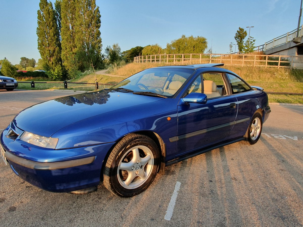 1995 Vauxhall calibra 2.0i 8v Auto SE4, Genuine 46k For Sale (picture 6 of 6)