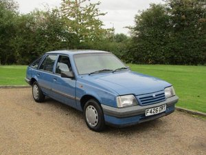 1988 Vauxhall Cavalier 1.6 L at ACA 2nd November