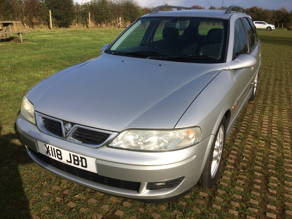 2000 Vauxhall Vectra 2.6 V6 SRI Estate 60000 miles SOLD (picture 4 of 6)
