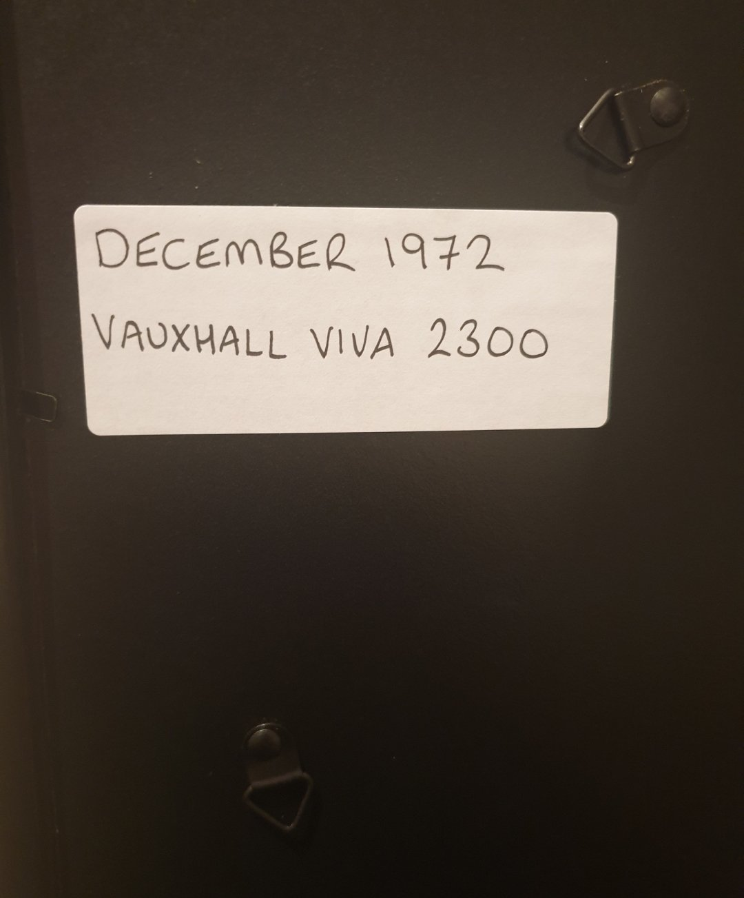 1972 Vauxhall Viva Advert Original  SOLD (picture 2 of 2)