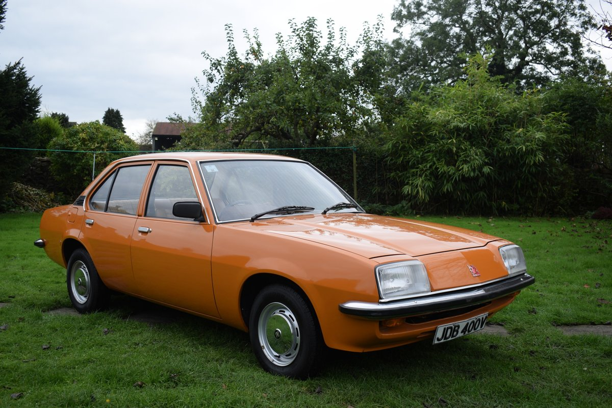1980 1981 VAUXHALL CAVALIER MARK 1 1.3. MAYBE ONLY 1 LEFT. SUPERB For Sale (picture 1 of 6)