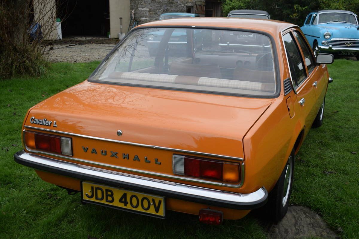 1980 1981 VAUXHALL CAVALIER MARK 1 1.3. MAYBE ONLY 1 LEFT. SUPERB For Sale (picture 2 of 6)