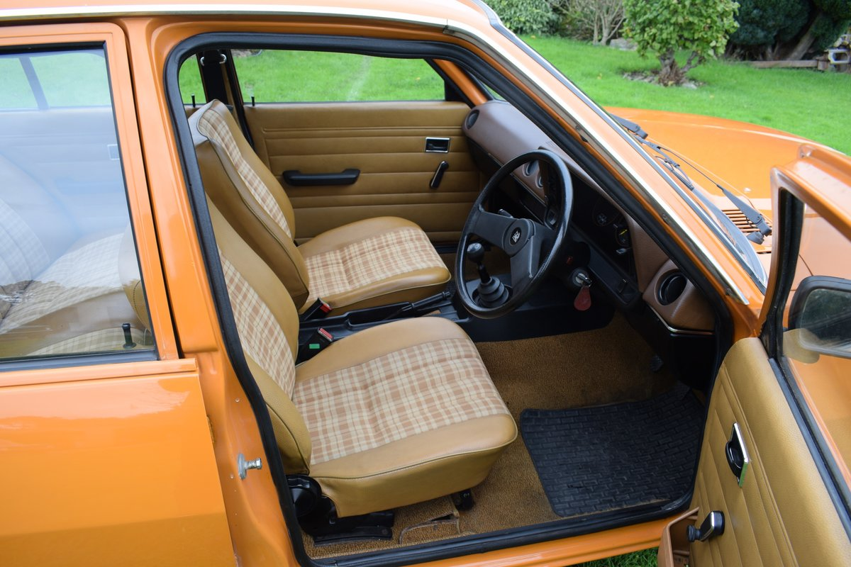 1980 1981 VAUXHALL CAVALIER MARK 1 1.3. MAYBE ONLY 1 LEFT. SUPERB For Sale (picture 5 of 6)