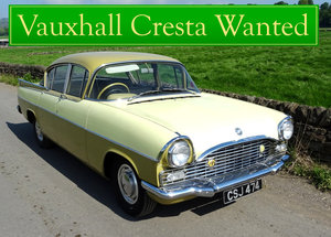 VAUXHALL CRESTA WANTED, CLASSIC CARS WANTED INSTANT PAYMENT