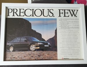 1991 Original Lotus Carlton Advert For Sale