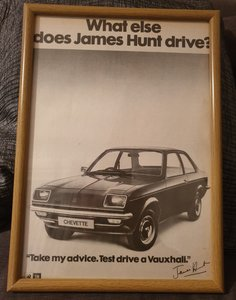 1976 Vauxhall Chevette Advert Original