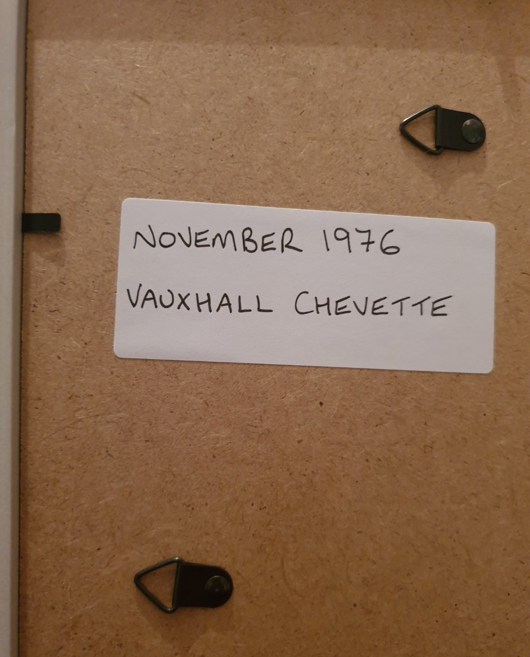 1976 Vauxhall Chevette Advert Original  SOLD (picture 2 of 2)