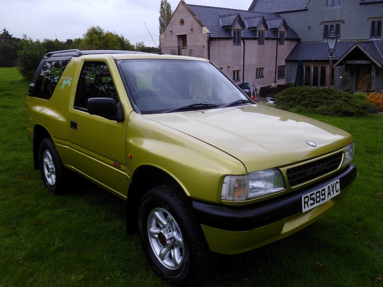1997 Vauxhall Frontera sport S For Sale (picture 1 of 6)