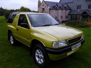 1997 Vauxhall Frontera sport S For Sale
