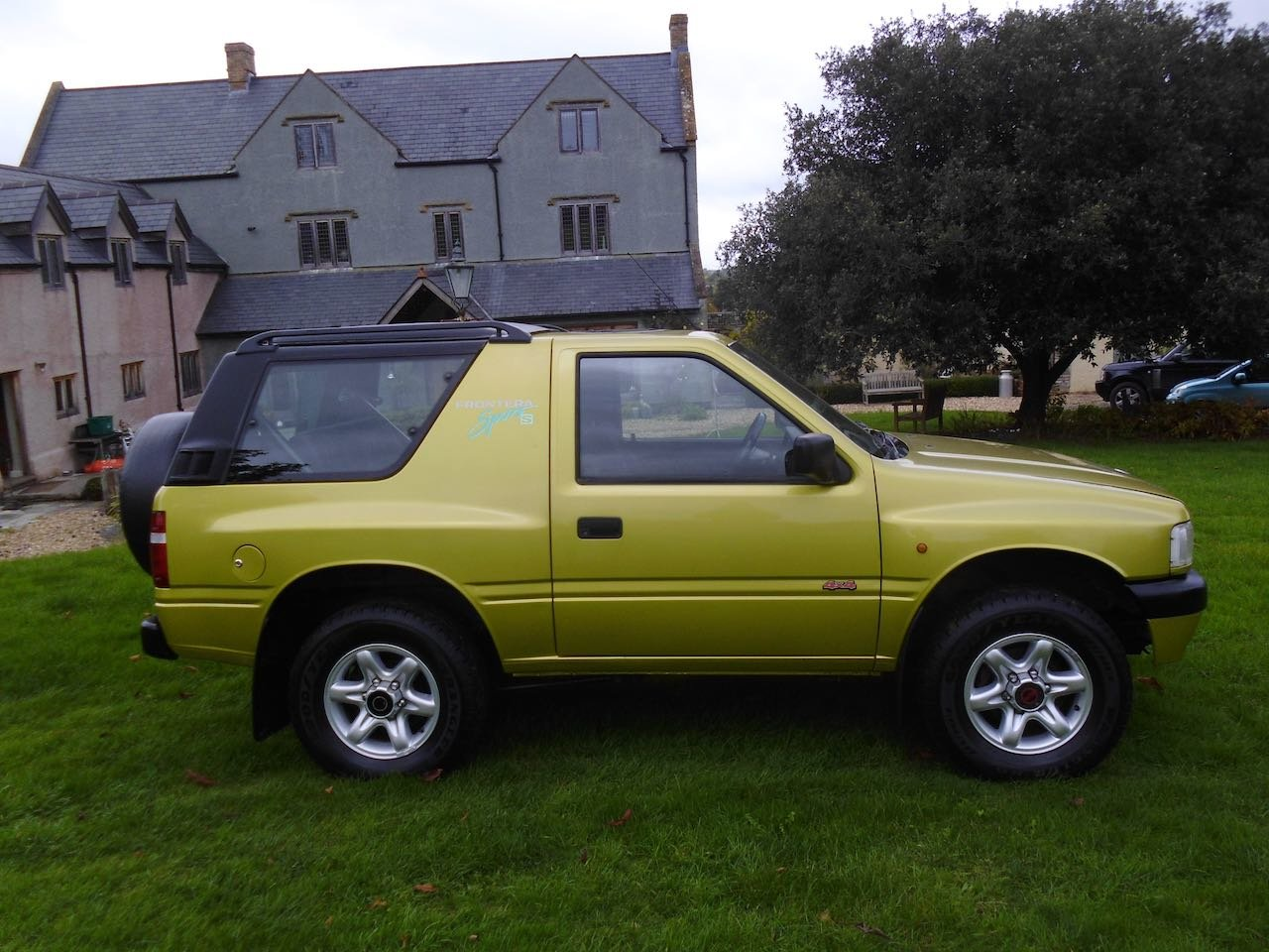 1997 Vauxhall Frontera sport S For Sale (picture 2 of 6)