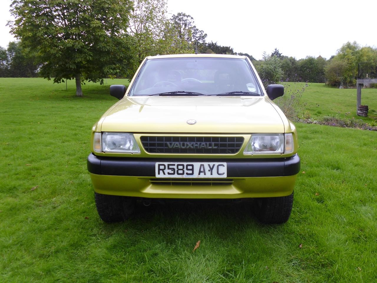 1997 Vauxhall Frontera sport S For Sale (picture 4 of 6)