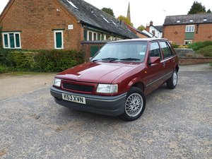 1992 Vauxhall nova only 20000 miles from new
