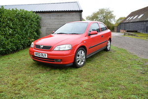 2002 Vauxhall Astra 16v For Sale by Auction