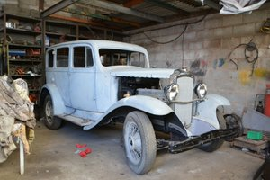 1933 Vauxhall Cadet VX Saloon For Sale by Auction