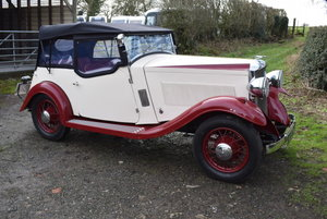 1934 Vauxhall Stratford Sports Tourer For Sale by Auction
