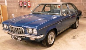 1972 Vauxhall Ventora For Sale by Auction