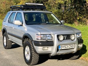 2003 Vauxhall Frontera Limited 3.2 V6 Manual - 49,000 miles! For Sale