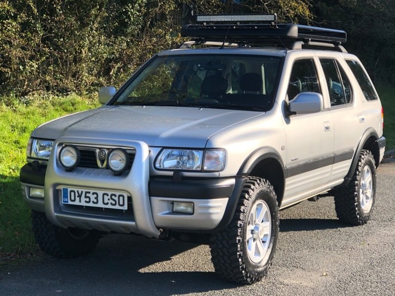 2003 Vauxhall Frontera Limited 3.2 V6 Manual - 49,000 miles! For Sale (picture 2 of 6)