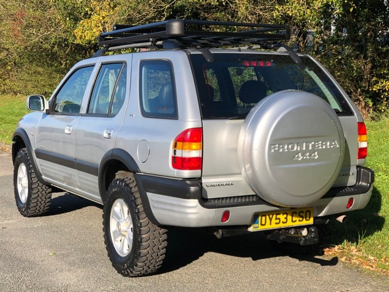 2003 Vauxhall Frontera Limited 3.2 V6 Manual - 49,000 miles! For Sale (picture 4 of 6)