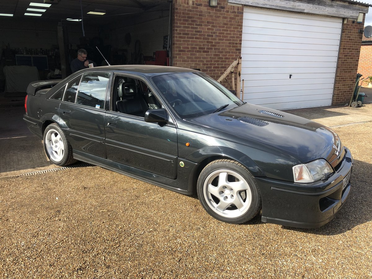 1993 Lotus Carlton Fully restored For Sale (picture 1 of 6)
