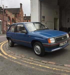 1989 Merit 1.2 low miles, all original lovely classic